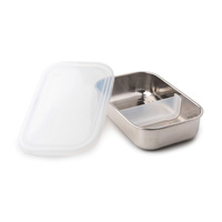 Kids Konserve: Divided Rectangle Container - Clear