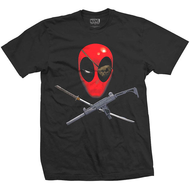 Deadpool Crossbones (Medium)