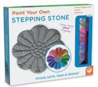 Mindware Create: Paint Your Own - Flower Stepping Stone