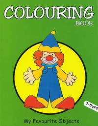 My Favourite Objects Colouring Book by Pegasus image