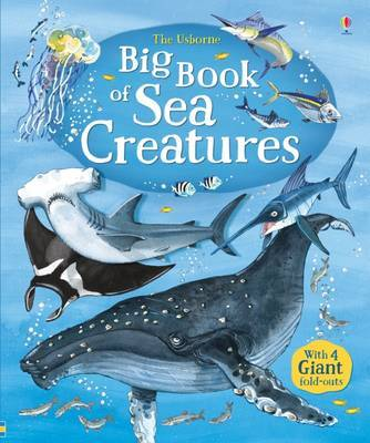 Big Book of Big Sea Creatures by Minna Lacey