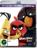 The Angry Birds Movie on Blu-ray, 3D Blu-ray, UV