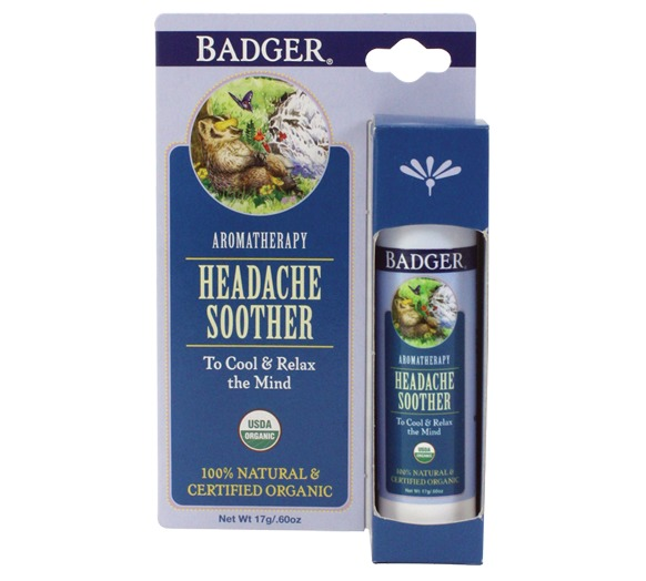 Badger Headache Soother Balm (17g) image