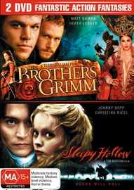 Brothers Grimm / Sleepy Hollow (2 Disc Set) on DVD image