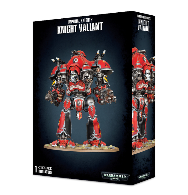 Warhammer 40,000 Imperial Knights - Knight Valiant