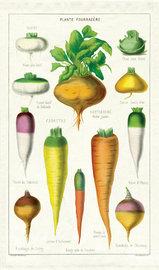 Vegetables Tea Towel