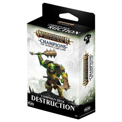 Warhammer TCG Age of Sigmar Champions: Campaign Deck Destruction image