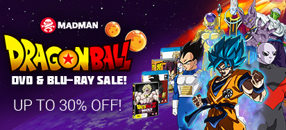 Save up to 30% off Dragon Ball DVDs & Blu-ray!