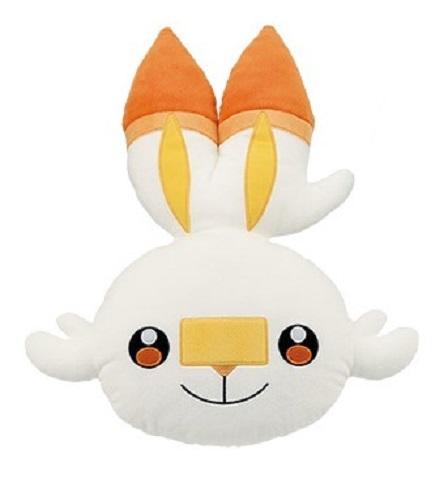 Pokemon: Large Face Cushion - Scorbunny