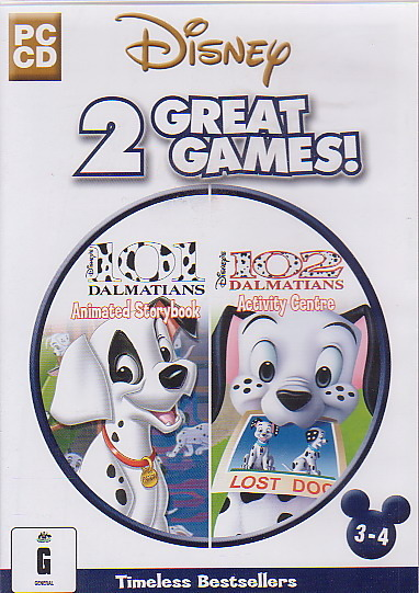 Disney 101 Dalmatians Animated Storybook + Activity Centre for PC Games