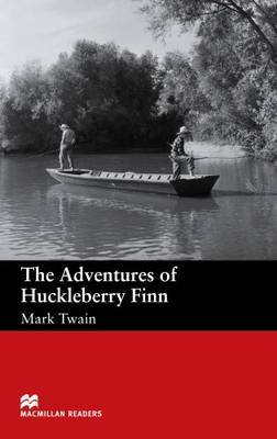 Macmillan Readers Adventures of Huckleberry Finn The Beginner Reader by Mark Twain ) image