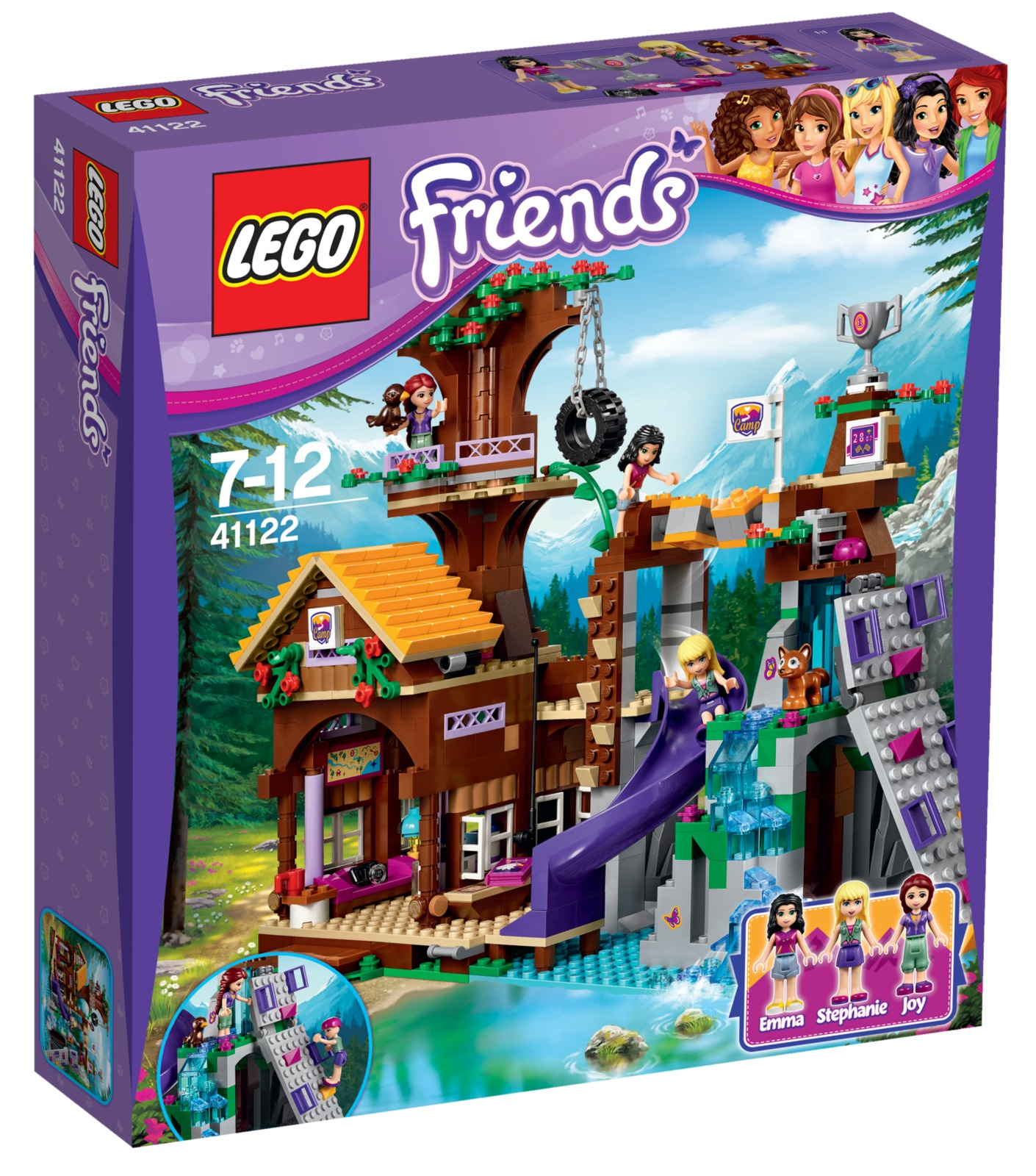 LEGO Friends - Adventure Camp Tree House (41122)   Toy ...