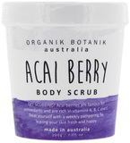 Organik Botanik Body Scrub Tub - Acai Berry (200gm)