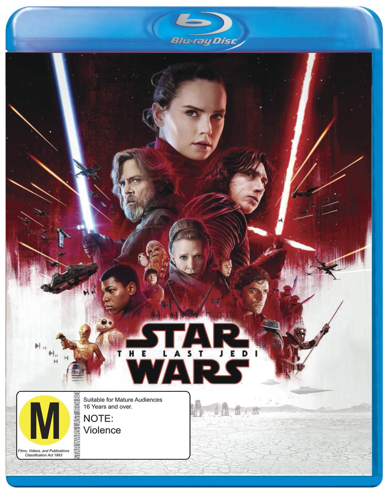 Star Wars: Episode VIII - The Last Jedi on Blu-ray image
