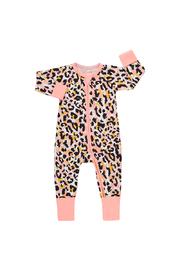 Bonds Zip Wondersuit Long Sleeve - Jungle Spot Lovebird (6-12 Months)