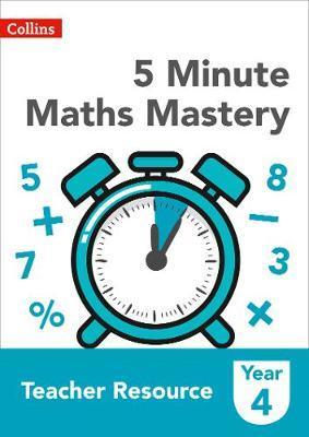 5 Minute Maths Mastery Book 4 by Collins image