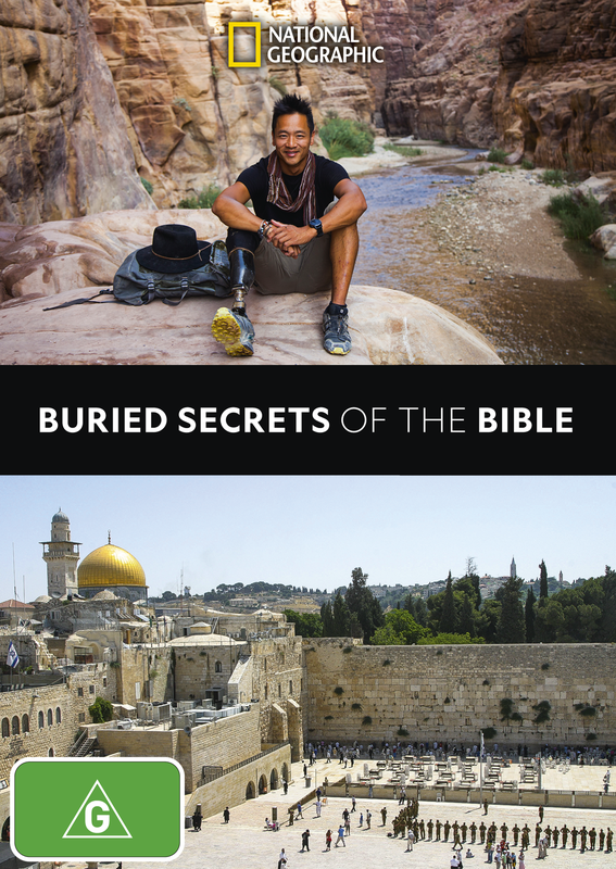 Buried Secrets of The Bible on DVD