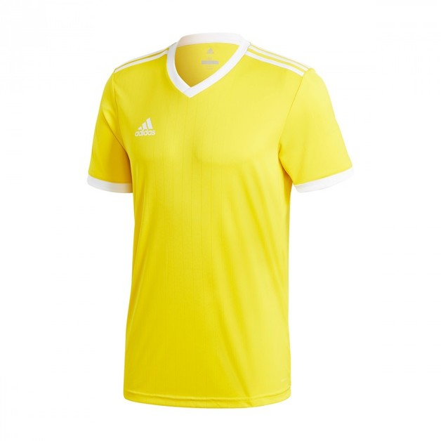 Adidas: Tabela Playing Shirt - Yellow/White (Large)