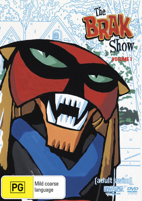 The Brak Show - Season 1 on DVD