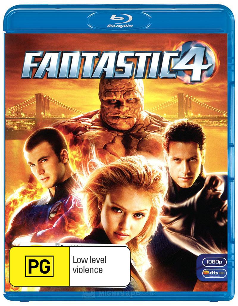 Fantastic 4 on Blu-ray image