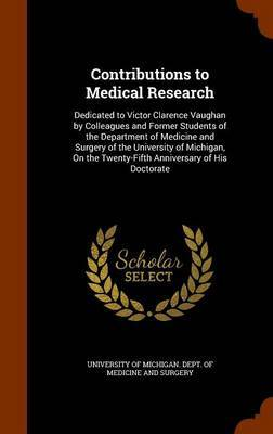 Contributions to Medical Research