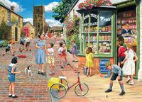 Holdson: 1000pce The Village Puzzle (Hopscotch Hill)