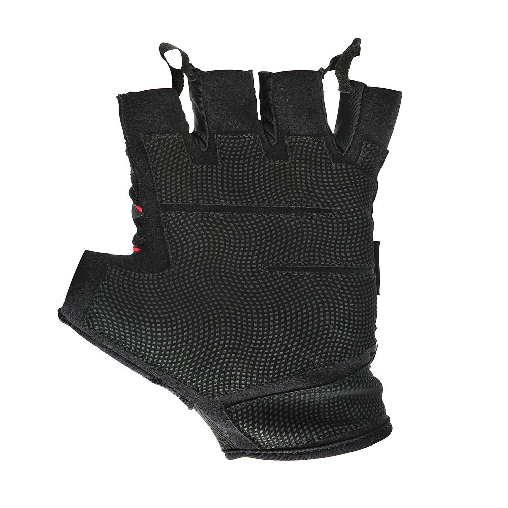 Adidas Fingerless Performance Gloves - Medium (Red) image
