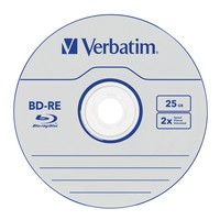Verbatim BD-RE 25GB Jewel Case 2x (5 Pack) image