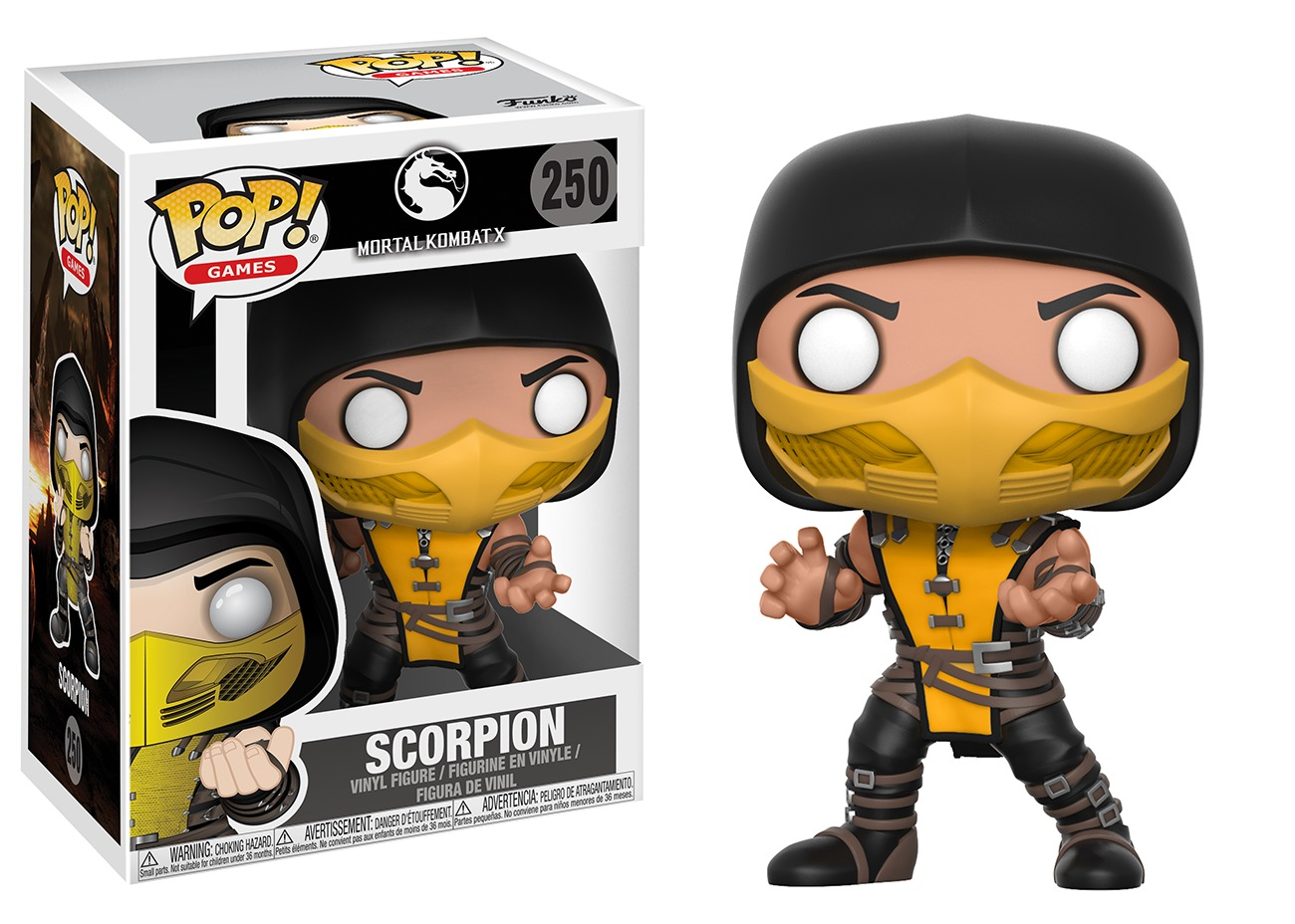 Mortal Kombat - Scorpion Pop! Vinyl Figure image