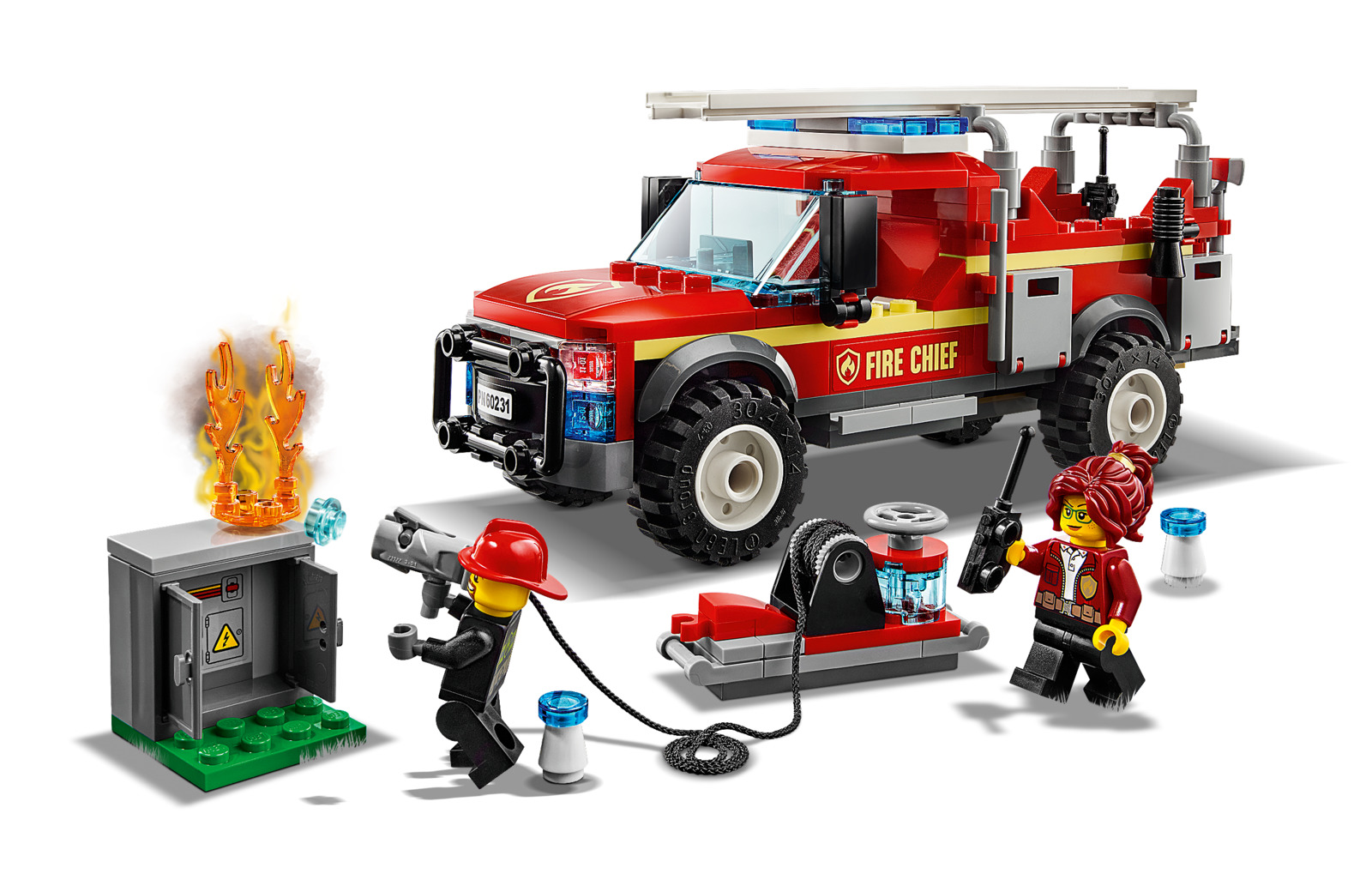 LEGO City: Fire Chief Response Truck - (60231) image
