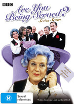 Are You Being Served? - Series 7 on DVD
