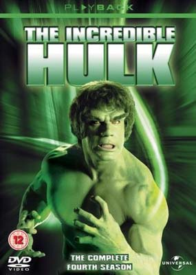 The Incredible Hulk - The Complete 4th Season (5 Disc Set) on DVD image