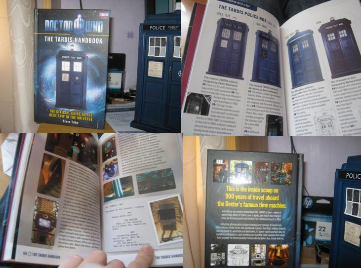 Doctor Who The TARDIS Handbook by Steve Tribe image
