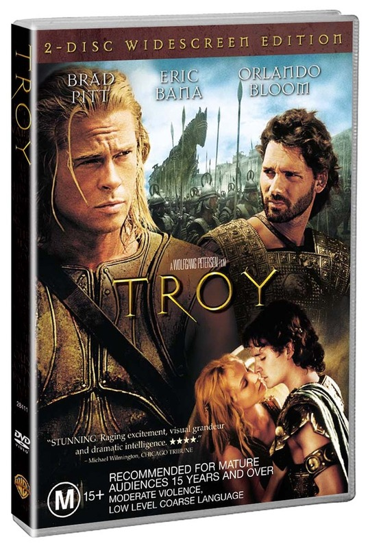 Troy (2 Disc Set) on DVD