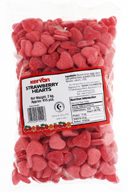 Kervan Strawberry Hearts (2kg)