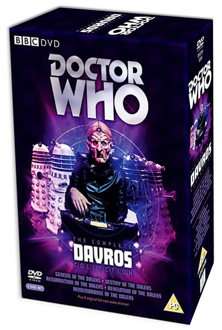 Doctor Who - The Complete Davros Collection Box Set on DVD