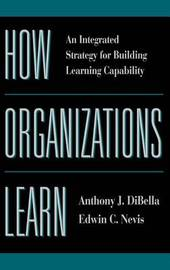 How Organizations Learn by Anthony J. DiBella