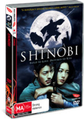 Shinobi on DVD