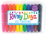 International Arrivals: Rainy Dayz Gel Crayons - Set of 12
