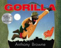 Gorilla Pbk With Cd by Anthony Browne image