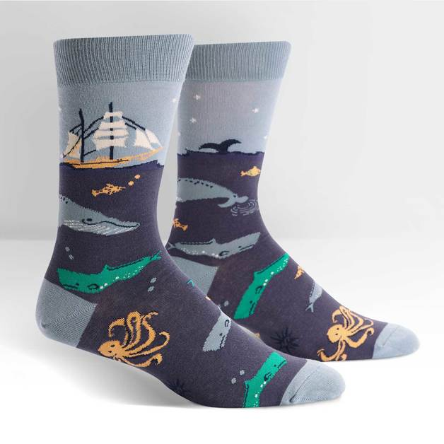 SOCK it to Me: Men's - Sea Voyage Crew Socks