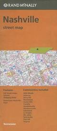 Folded Map Nashville TN Street by Rand McNally