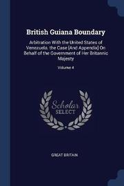 British Guiana Boundary by Great Britain