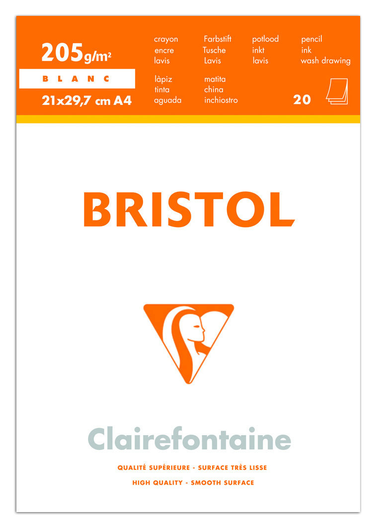 Clairfontaine: Bristol Bloc Pad - A3 (20 Sheets) image