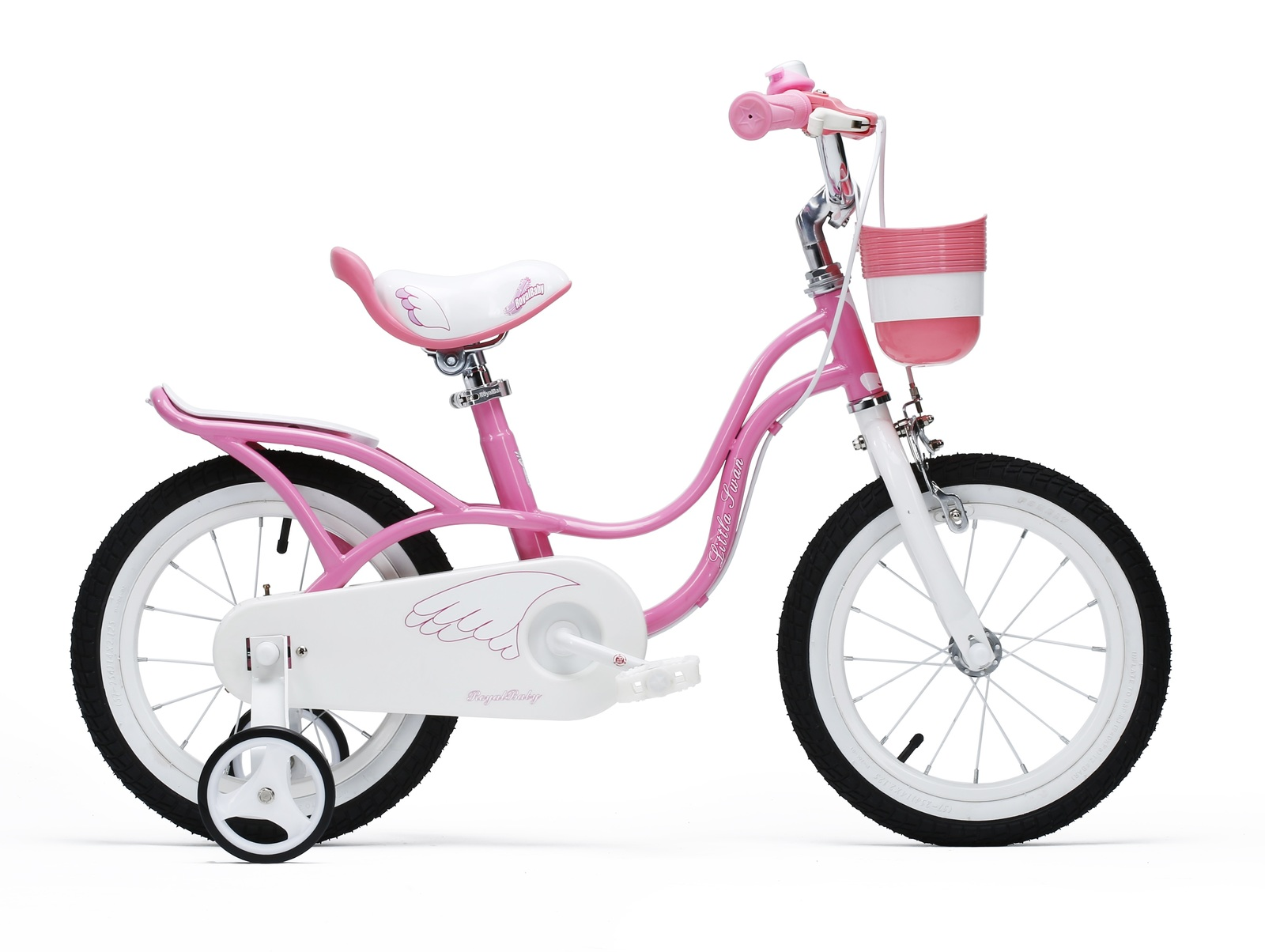 "RoyalBaby: Little Swan RB-18 - 14"" Bike (Pink) image"