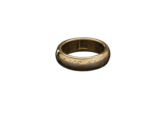 Lord of the Rings: The One Ring (size Z+1)