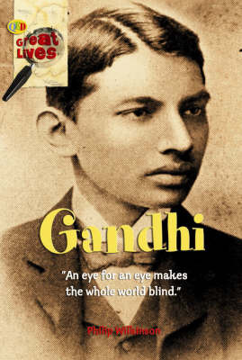 Gandhi by Philip Wilkinson image