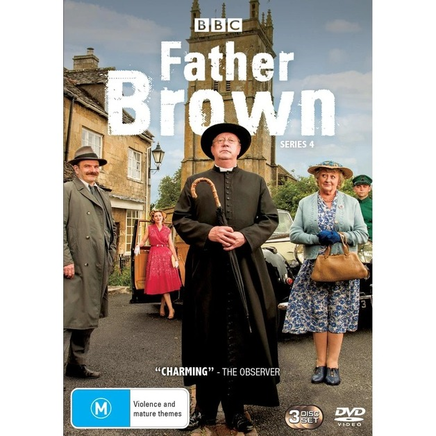 Father Brown - Series 4 on DVD