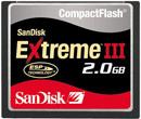 SanDisk 2GB Extreme III CF Memory Card