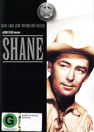 Shane (Ultimate Western Collection) on DVD